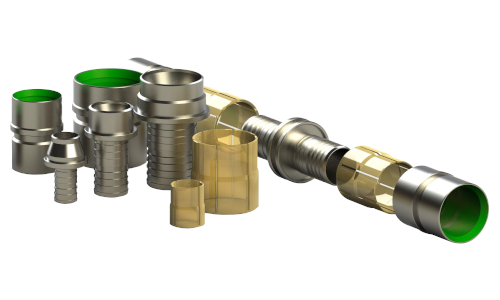 Raccordi in acciaio FibreFlex e FibreFlex Pro