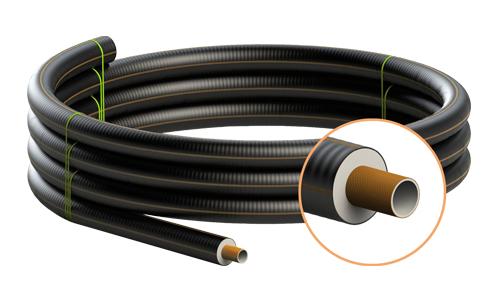 Tubo preisolato flessibile rinforzato FibreFlex Pro