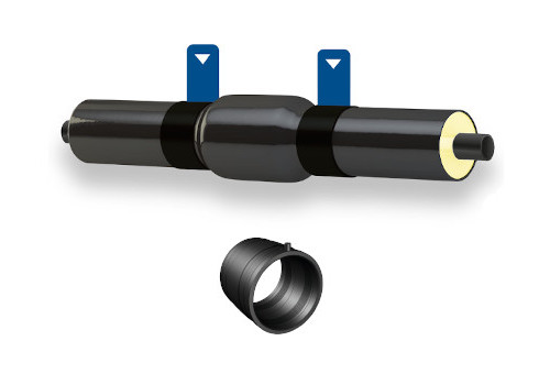 Tubi, raccordi preisolati e accessori x impianti di teleraffrescamento