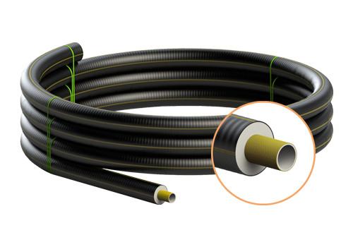 Tubi preisolati flessibili rinforzati FibreFlex