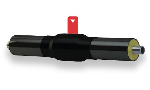 Manicotti termorestringenti per sistemi preisolati rigidi e flessibili