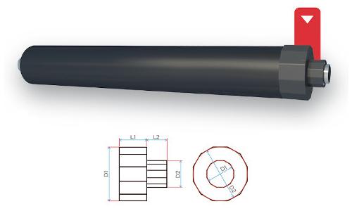 Terminali termorestringenti per protezione testate tubi preisolati