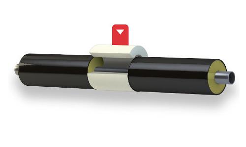 Semicoppelle in poliuretano espanso per il ripristino dei giunti di impianti di teleraffrescamento e teleriscaldamento