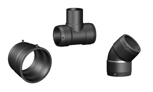 Raccordi elettrosaldabili di polietilene per condotte in pressione di acqua e gas conbustibili